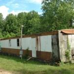 Abandoned Mobile Home Hendersonville