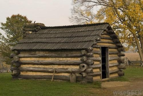 Abraham Lincoln Born Crude Log Cabin Kentucky