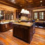 Absolutely Stunning Log Home Big Beautiful Kitchens
