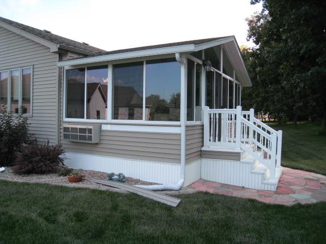 Actually Prefab Kit Which Matched Existing House