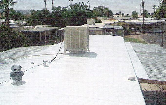Add Pitched Roof Mobile Home Existing Flat