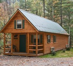 Small Modular Log Homes