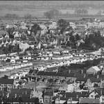 Aerial Photograph Shows Extent Prefabs Stretching