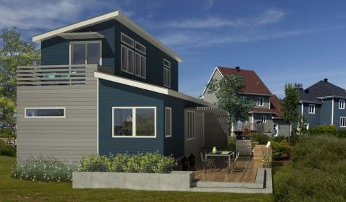 Affordable Modern Prefab Homes Plans