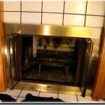 Aftermarket Glass Doors Completely Cover Pre Fabricated Fireplace