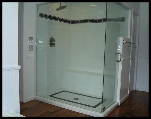 Again Another Luxury Shower Ruined Badly Placed Border