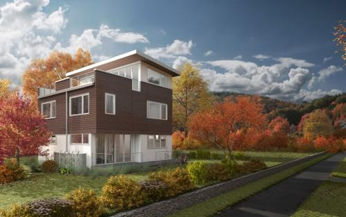 All Electric Energy Efficient Home Targeting Leed Homes