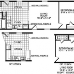 All Single Wide Mobile Home Floor Plans