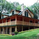 Alta Log Homes Front Line New Technology