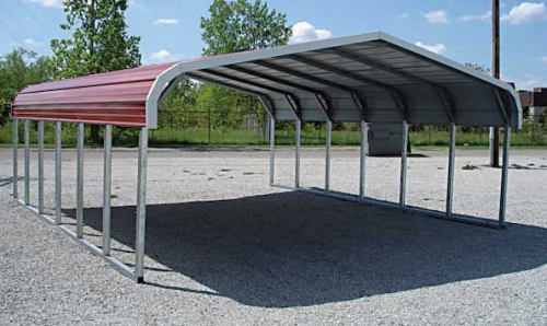 Aluminum Steel Prefab Carports Very Popular
