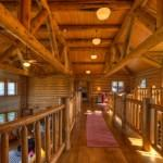Amazing Custom Built Log Home Boasts Five Bedrooms Six