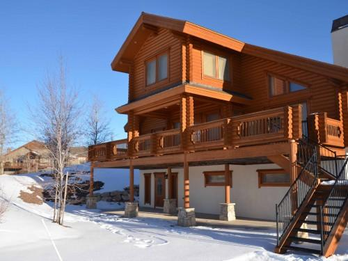 Amazing Log Home Less Than Minutes Park City Mountain