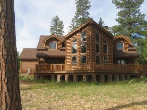 Amazing Luxury Log Home Plans Natural Warm Sensation