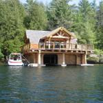 Amazing Waterfront Log Home