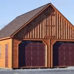 Amish Built Log Cabin Garages Hudson Valley New York State