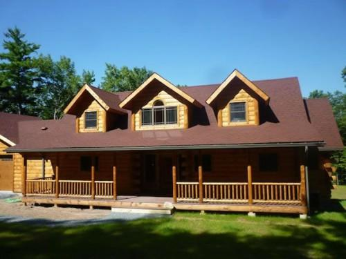 Another Beautiful Estemerwalt Log Home