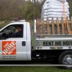 April Home Depot Truck Rental