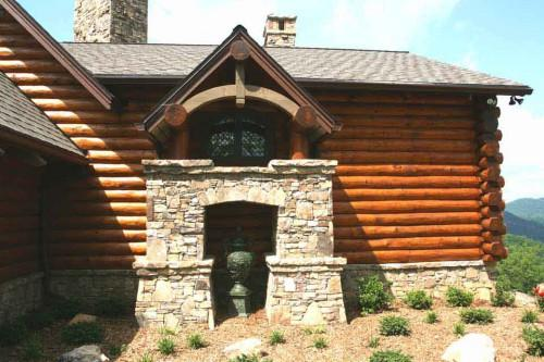 Architects Log Home Views Appeal