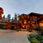 Aspen Glen Log Estate Luxury Home Sale Steamboat Springs