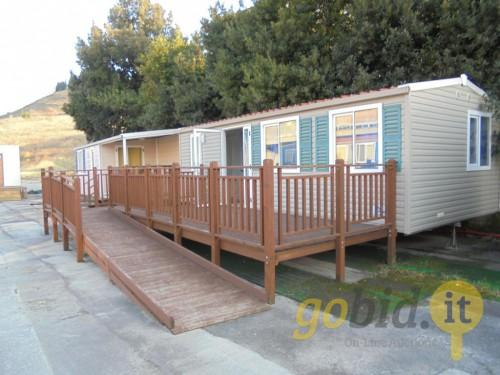 Auction Lot Mobile Home Space Shelbox