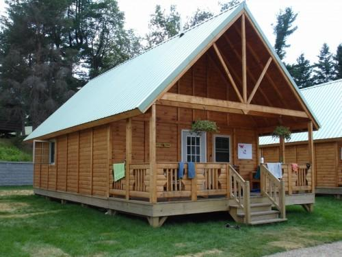 Ausable Timber Cabin Model