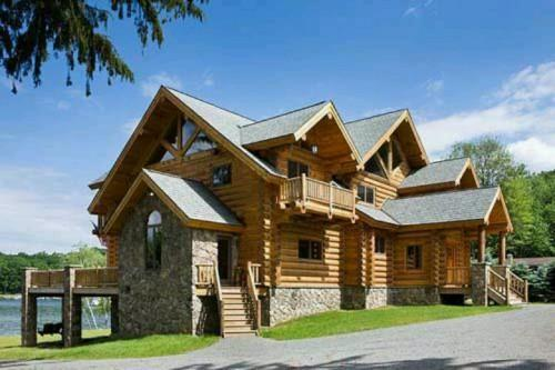 Awesome Estemerwalt Log Home