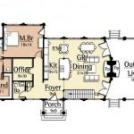 Awesome Luxury Log Home Floor Plans