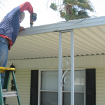 Awning Coverted Roof