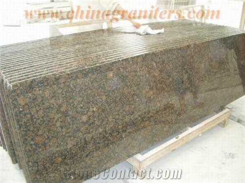 Baltic Brown Granite Prefabricated Countertop