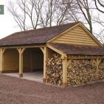Barns Garage Logs Stores House Storage Sheds