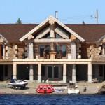 Bauline Line Amazing Log Home Sale