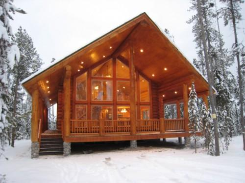 Bear River Country Log Homes Home Packages