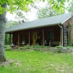 Beautiful Country Log Home Acres