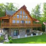 Beautiful Custom Built Log Home