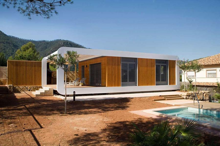 Beautiful Houses Prefab House Spain