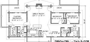 Beautiful Open Floor Plan Log Homes Home Plans