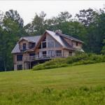 Beautiful Vermont Log Home