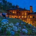 Beaver Creek Most Stunning Log Home Boasts Bedrooms
