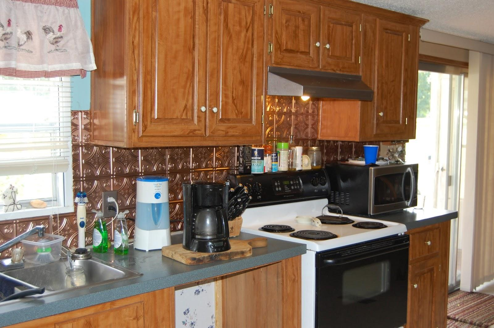 Before Older Mobile Home Kitchen Cabinets