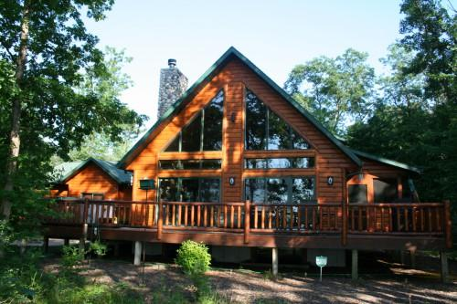 Below Sampling Log Homes Currently Sale Lake Petenwell