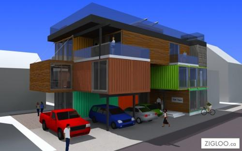 Benefits Container Homes