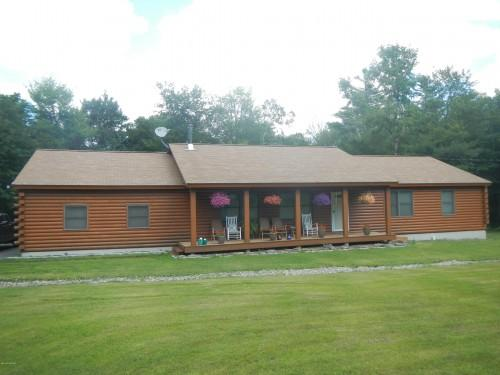 Berkshire County Log Homes Sale Cabins