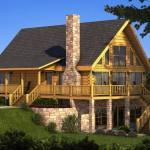 Berkshire Log Home Plan