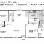 Mobile Home Floor Plan