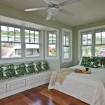 Bewitching Light Green Home Remodeling Tropical Bedroom Hawaii