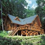 Big Foot Log Timber Homes