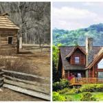 Binay Honest Abe Lincoln Parallel Lives Two Log Cabins