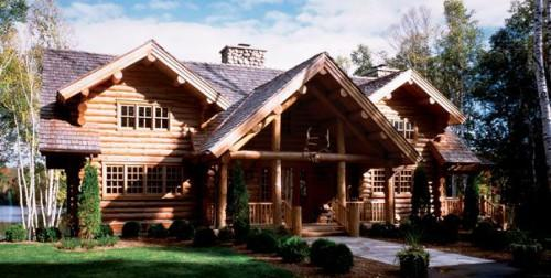 Birch Lodge Model Maple Island Log Homes