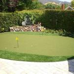 Blackhawk Home Putting Green
