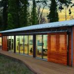 Blu Homes Unfolds Glidehouse Prefab Vashon Island Washington